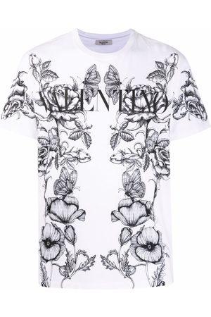 VALENTINO Botanical-print T-shirt
