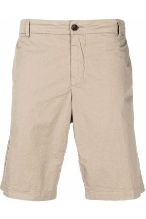 MYTHS Knee-length chino shorts - Neutrals
