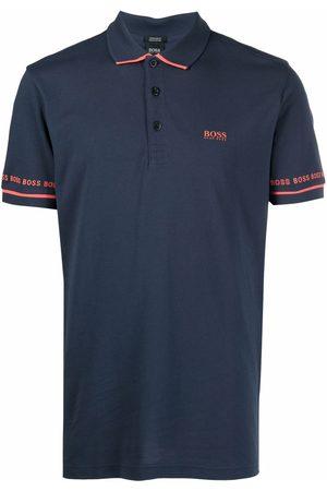 HUGO BOSS Men Polo Shirts - Contrast-trimmed polo shirt