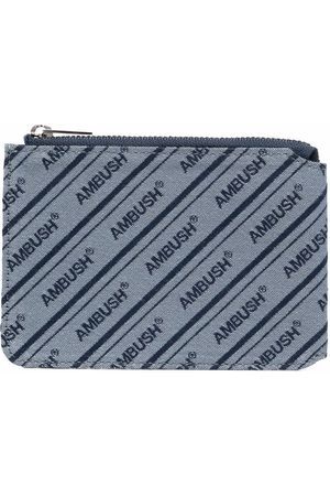 AMBUSH Logo-embroidered purse