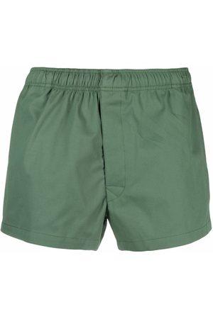 SOCIÉTÉ ANONYME Bermudas - Logo-patch shorts