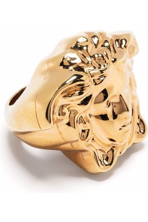 VERSACE Men Rings - Medusa Head oversized ring