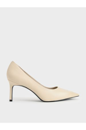 CHARLES & KEITH Glossy Toe Cap Pumps