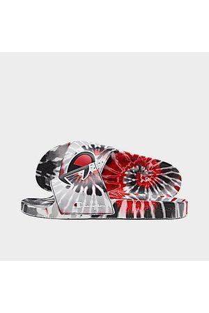 Champion Men Sandals - Men's IPO Tie-Dye Slide Sandals Size 8.0