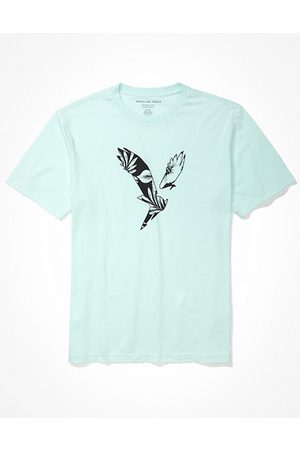 American Eagle Outfitters Super Soft Eagle Graphic T-Shirt Men's XS