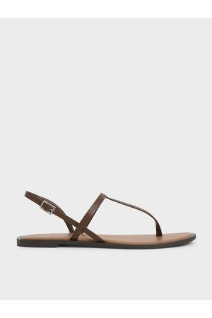 CHARLES & KEITH T-Bar Slingback Sandals