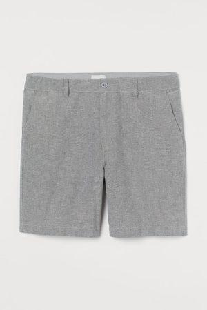 H&M Men Shorts - Oxford Cotton Shorts