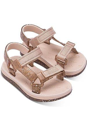 Mini Melissa Girls' Mini Papete Sandals - Walker, Toddler