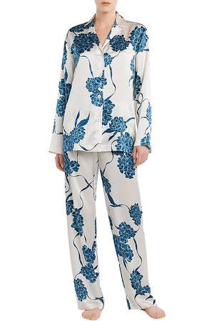 La Perla Floral Silk Pajama Set