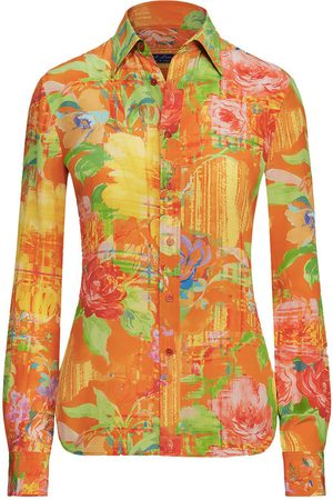 Ralph Lauren Hailey Floral Silk Shirt