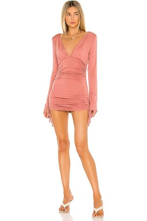 Lovers + Friends Women Party Dresses - Willow Dress in Rose.