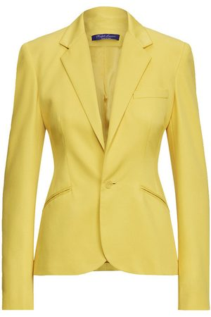 Ralph Lauren Amiya Wool Gabardine Jacket