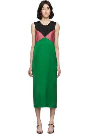 Marina Moscone And Heavy Satin Dress