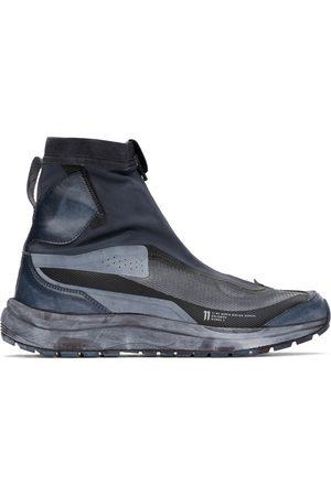 11 BY BORIS BIDJAN SABERI And Navy Salomon Edition Bamba 2 High Sneakers
