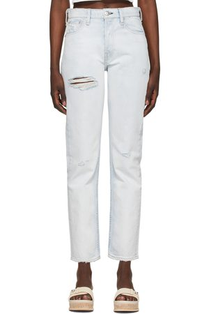 RAG&BONE Blue Maya High-Rise Slim Jeans