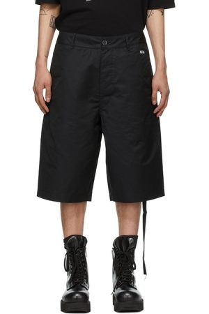 Rick Owens Black Ams Shorts