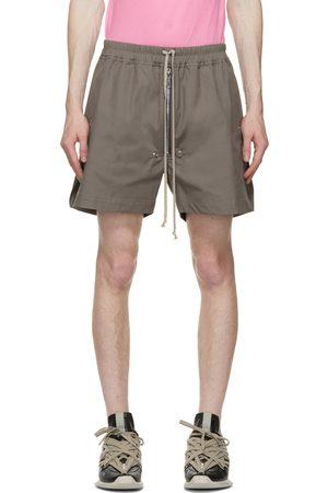 Rick Owens Grey Bela Boxers Shorts