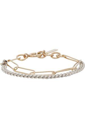 Justine Clenquet Silver & Gold Pixie Bracelet