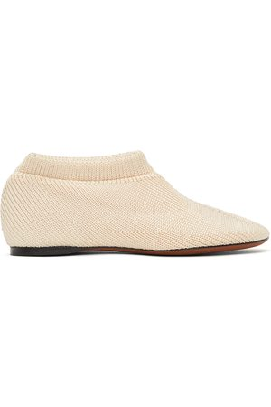 Proenza Schouler Off-White Rondo Knit Slippers