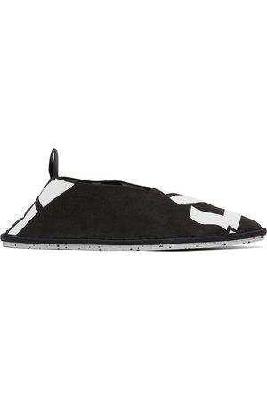 Kenzo Black Sport K-Knit Loafers