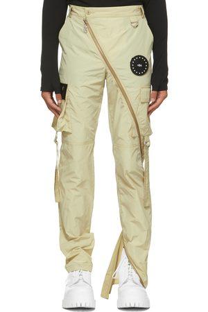 Hood By Air Khaki Veteran Taffeta Cargo Pants