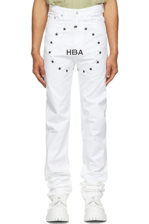Hood By Air Veteran Embroidered Logo Jeans