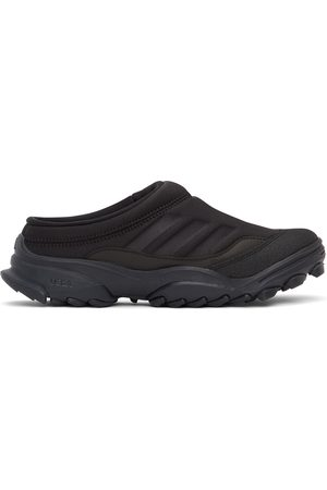 032c Black adidas Edition Jersey GSG Mule Sneakers
