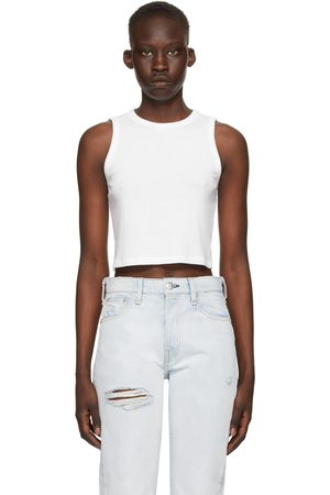 RAG&BONE The Knit Rib' Cropped Tank Top