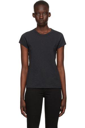 RAG&BONE Black 'The Slub' T-Shirt