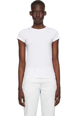Frame White 'Le Mid Muscle Cap' T-Shirt