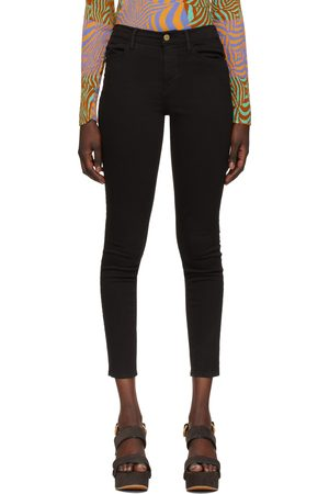 Frame Black 'Le Skinny High' Jeans
