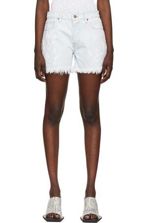 Frame Blue 'Le Slouch' Shorts