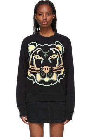 Kenzo Black WWF Edition K-Tiger Sweatshirt