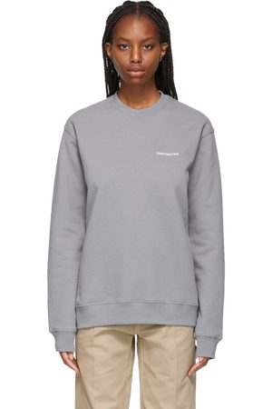 SAINTWOODS Grey Logo Sweatshirt