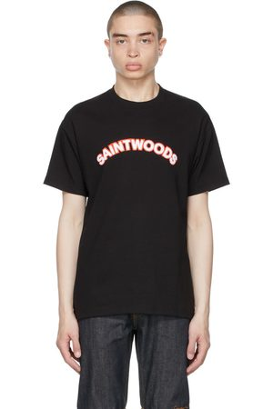 SAINTWOODS Chenille Logo T-Shirt