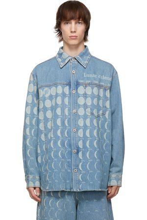 Loewe Blue Paula's Ibiza Denim Moon Calendar Shirt