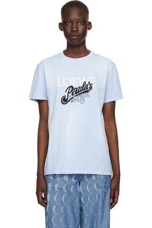 Loewe Blue Paula's Ibiza Tie-Dye Logo T-Shirt