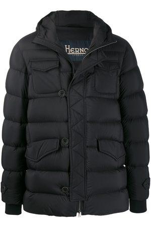 HERNO Flap pockets padded coat