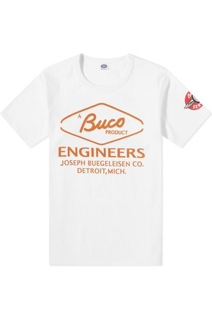 The Real McCoys Men T-shirts - Buco Engineers Tee