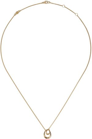 Georg Jensen Women Necklaces - 18kt yellow Offspring pendant necklace - color