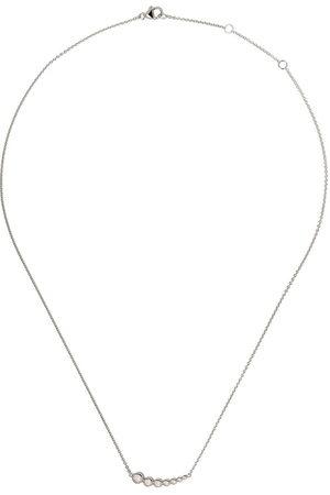 Georg Jensen Women Necklaces - 18kt white gold Aurora diamond pendant necklace - COLOR