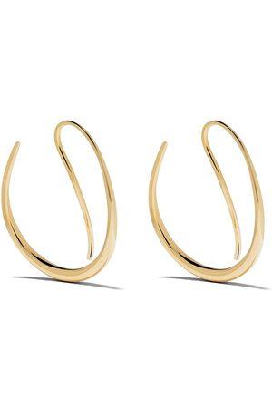 Georg Jensen Women Earrings - 18kt yellow Offspring earhoops - color