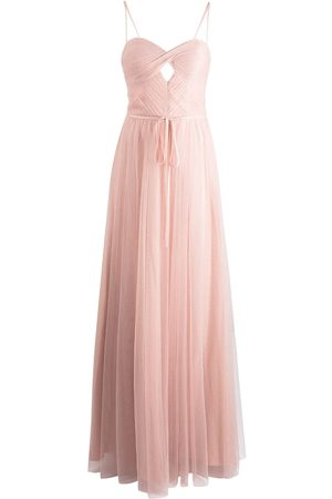 Marchesa Notte Women Evening dresses - Sweetheart-neck floor-length gown