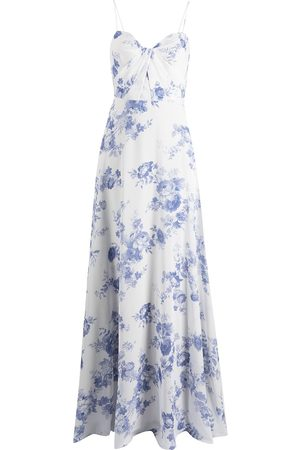 Marchesa Notte Women Printed Dresses - Floral-print floor-length gown
