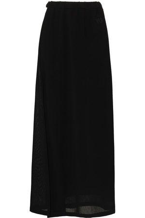 Y-3 Women Skirts - Y3 SHADE AIRY GAUZE SKRT MXI W DIA SLT F