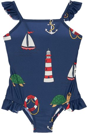 Mini Rodini Recycled Lycra One Piece Swimsuit