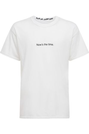 F.A.M.T. Now's The Time Cotton T-shirt