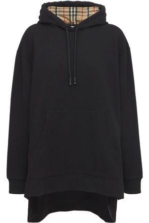 Burberry Women Hoodies - Aurore Cotton Jersey Sweatshirt Hoodie