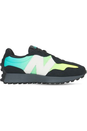 New Balance 327 Suede & Mesh Sneakers