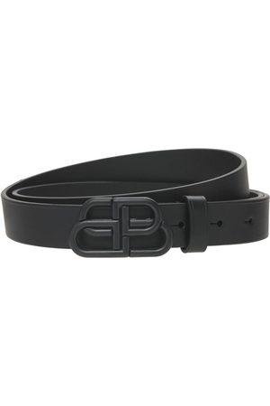 Balenciaga Women Belts - Bb Leather Belt